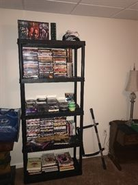TON OF CDS, DVDS AND MAGAZINES