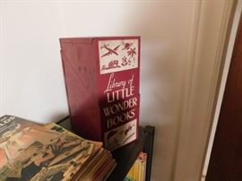 Library of Little Wonder Books
