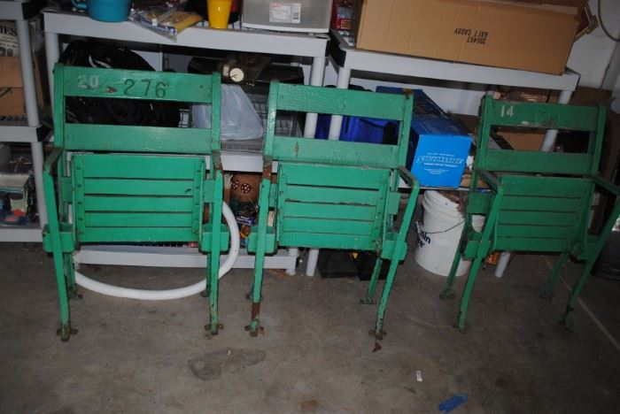Wrigley Field Original Bench Seats (Only One Will Be For Sale)