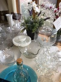 Glassware + crystal