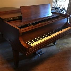 Baldwin grand piano early 1950's. This item can be previewed prior to sale for serious buyers.