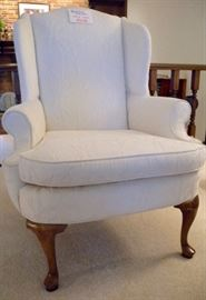 Two wingback chairs, Shuford (Century) Furniture