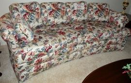 "Pearson (High Point, NC) custom-made sofa, hand-tailored furniture, 79""x25"""