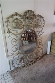Uttermost Mirror. Hangs either way.