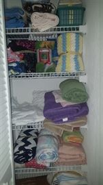 Linens, Throws, Sheets, Towels