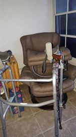 Hospital Style Walker with arm rest to lean on