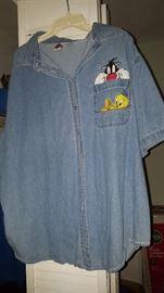 Plus Size Clothing...Disney Embroidered Shirt
