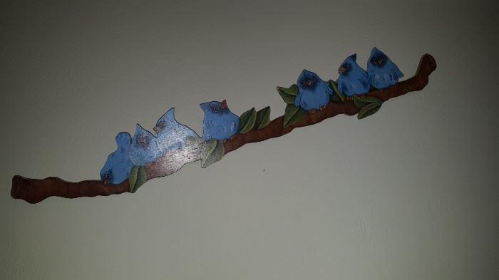 Blue Bird Wall Art