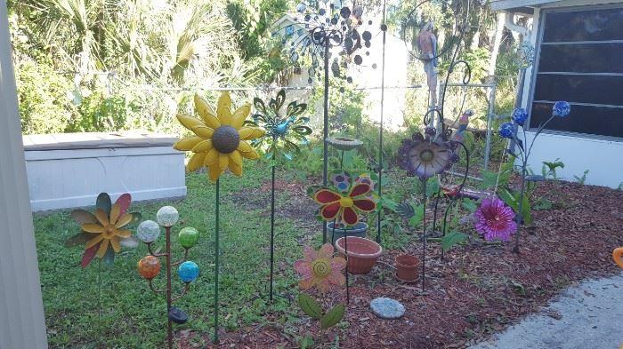 Yard Art of all kinds!