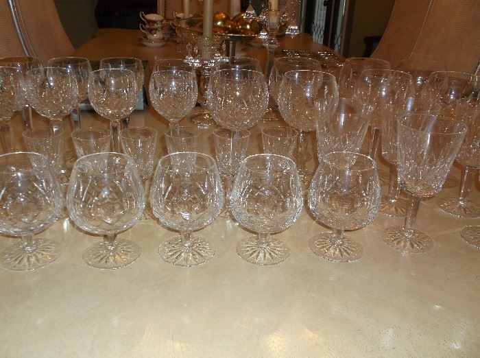 """""""Lismore"""" crystal by Waterford"""