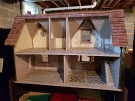 Handmade doll house.