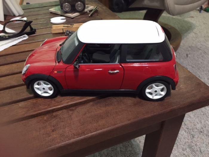 Cooper Mini metal model
