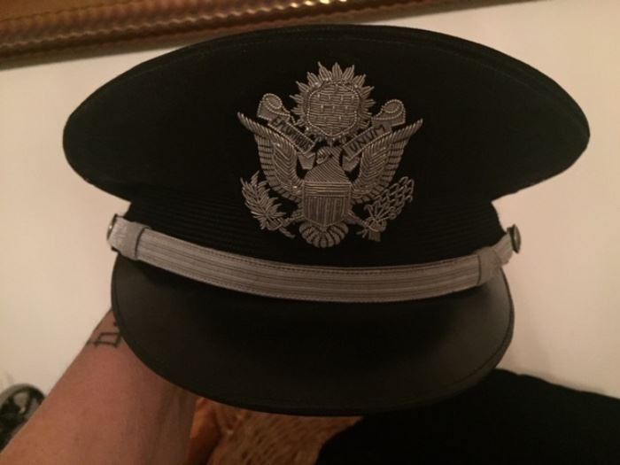Air Force officers dress cap