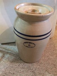 Marshall Pottery No 4 butter churn