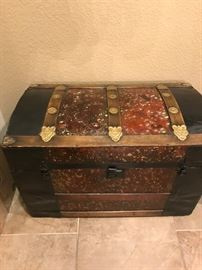 1 of 2 Dome Top Trunks
