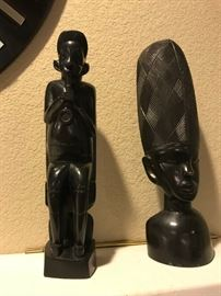 Ebony Wood African Carvings