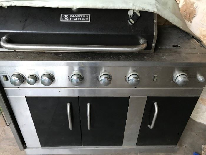 Master Forge Natural Gas Grill