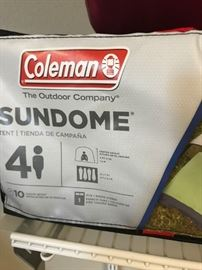 Coleman 4 person Sundome Tent