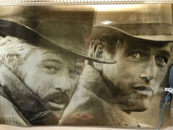 Butch and Sundance Poster- Very Collectible