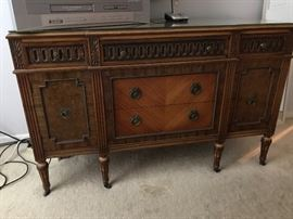 Antique Buffet, or could be used as a lady's dresser to match the other dresser