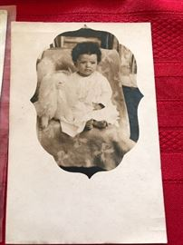 Vintage African American Photo/post card