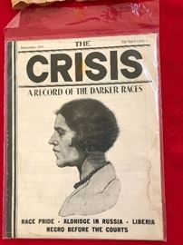 The Crisis A Record of the Darker Races