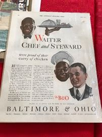 Waiter Chef and Steward Advertising