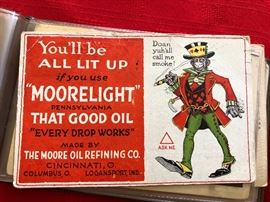 """Moorelight"" Advertising post card"