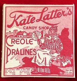 Kate Latter's Candy Shop Creole Pralines
