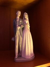 Lladro Figurine Wedding Bride And Groom DAİSA 1985
