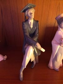 "Lladro B5547 ""Only the Beginning"" - Perfect Condition - June Graduation Present"