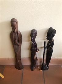 African Wooden figurines