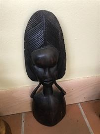 African Wood Statures
