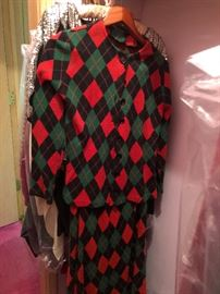 Plaid Christmas Suit