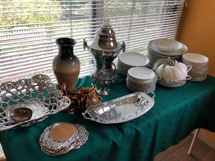 China, Silver Plate, Great serving items