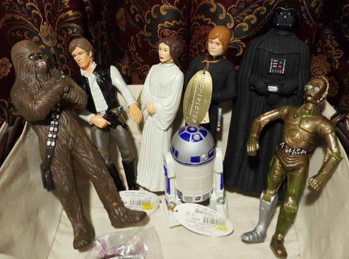 Star Wars Doll Collection
