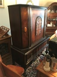Antique China Hutch $ 340.00