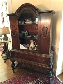 Antique China / Display Hutch $ 380.00