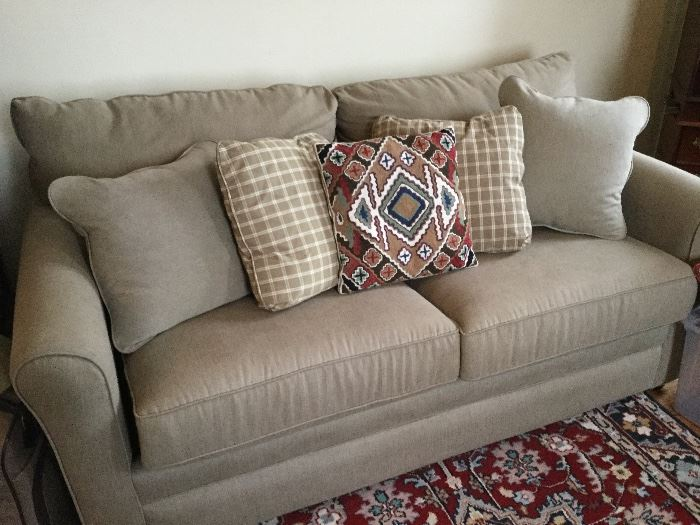 Brand new La-Z Boy sleeper sofa. Pet free, smoke free home. Please bring your own muscle to move !