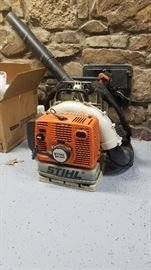 STIHL Back pack leaf blower.  BR 340