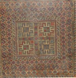 Antique and Finely Hand Woven Armenian Tapestry