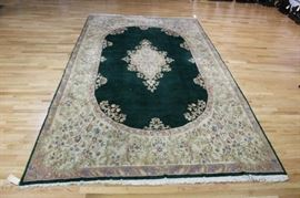 Antique and Finely Hand Woven Imperial Kirman
