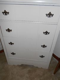 Antique shabby chic chest of drawers