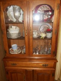 Nice petite china hutch