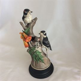 "Boehm Limited Edition Porcelain Made in USA. Downey Woodpecker #427, 13"" H."