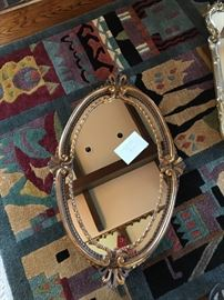 LaBarge Oval Mirror