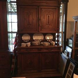 Antique English Server cabinet