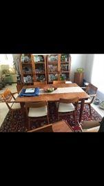 Teak Table/chairs