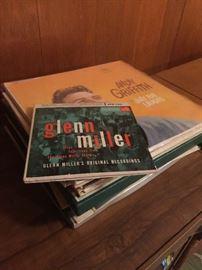 A few albums.