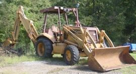 Case 580 Super K   4 x 4 Backhoe
